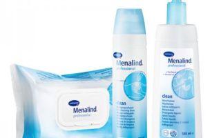 Применение продукции Меналинд от пролежней – крем, пена, лосьон, салфетки