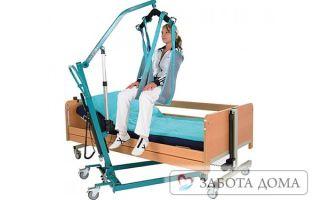 Виды и особенности приспособления для лежачих больных