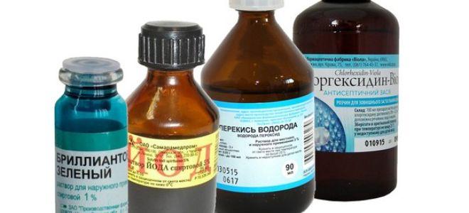 Эффективность обработки пролежней: хлоргексидином, зеленкой, йодом или перекисью