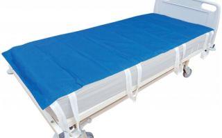 Разновидности и особенности простыней для лежачих больных