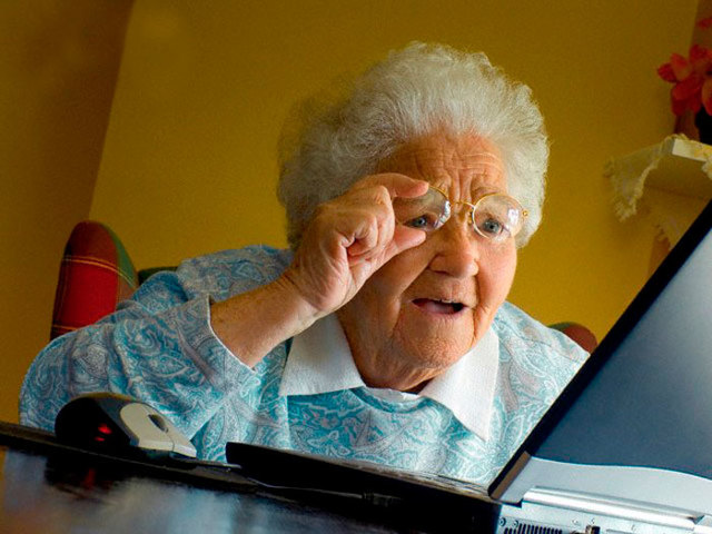 Как научить пользоваться компьютером бабушку - с чего начать
