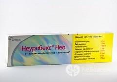 Препарат Неуробекс Нео: побочные действия, дозировка и противопоказания для применения