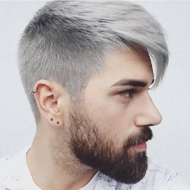 Причины поседения волос у мужчин и женщин