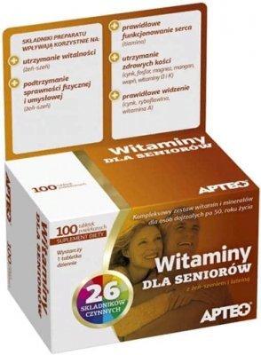Лучшие витаминные комплексы для пожилых людей