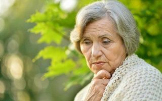 Причины слезотечения из глаз у пожилых людей