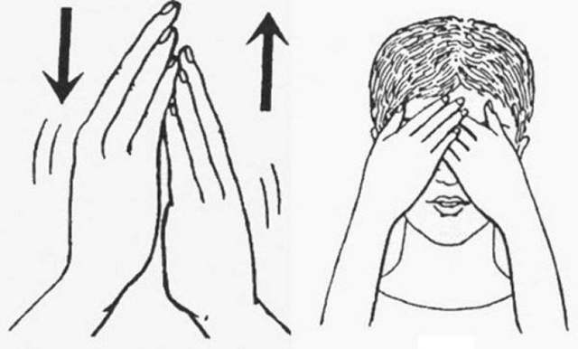 Коррекция зрения по методике Бейтса: пальминг, проблески и соляризация