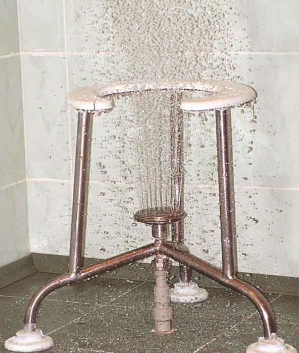 Восходящий душ: показания и противопоказания