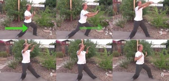 Гимнастика для пожилых людей, упражнения для Тай-Чи и Цигун - Видео