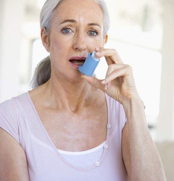 Бронхиальная астма (БА) у пожилых людей: симптомы и лечение