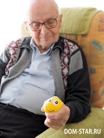 Моторика у пожилых людей - упражнения для поддержания моторики