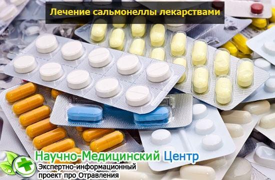 Сальмонеллез: формы и медикаментозное лечение, симптомы у взрослых