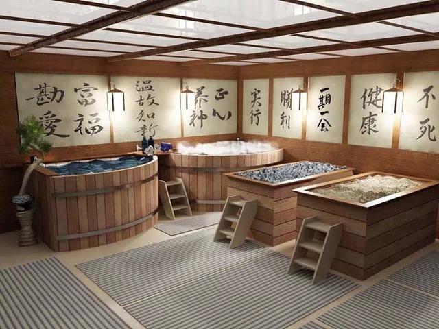 Японские бани офуро и фурако